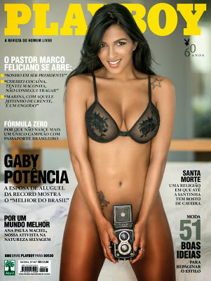 Revista Playboy – Gaby Fontenelle – Abril 2014