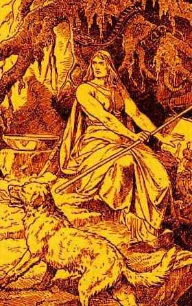 Goddess Hel Image