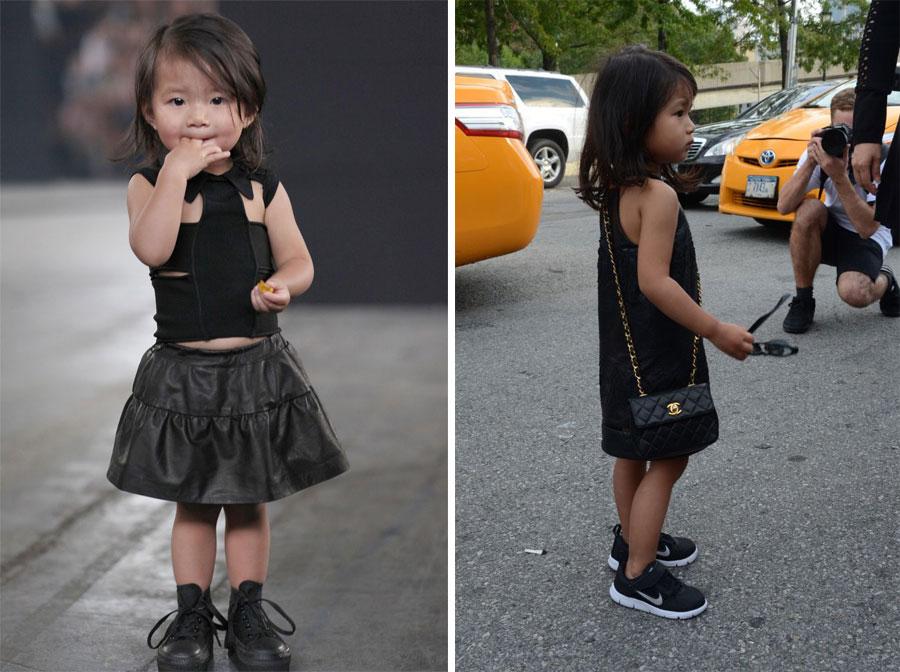 *Alexander Wang(王大仁)紐約時裝秀:小姪女時尚現身! 2