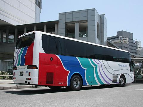 名鉄バス「名古屋~松山線」 2607 リア