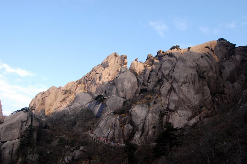 Gunung batu Huangshan