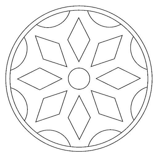 Maestra de infantil mandalas para colorear mandalas de for Cenefas para dibujar