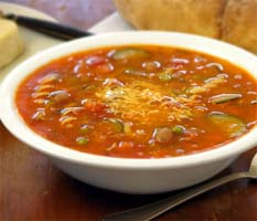 Weight Loss Recipes : Minestrone Soup