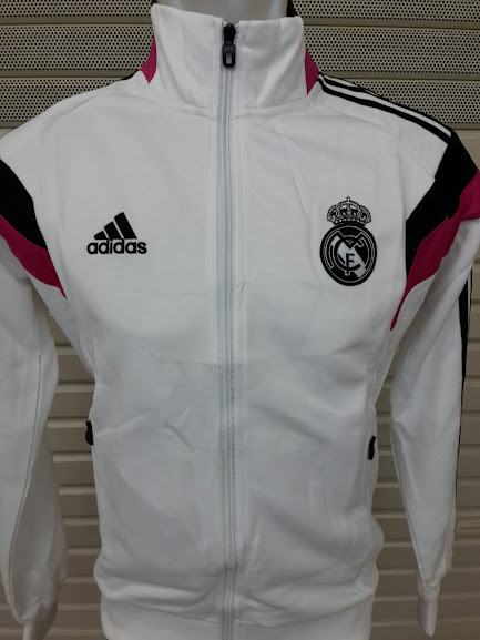 Jaket Real Madrid Training Putih 2014-2015