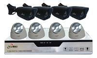 CCTV 8 CAMERA 900 TVL