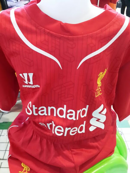 Jersey Bola Anak Liverpool Home 2014-2015