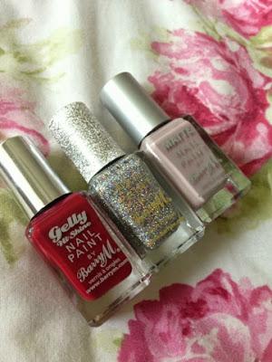 Barrym nail polishes