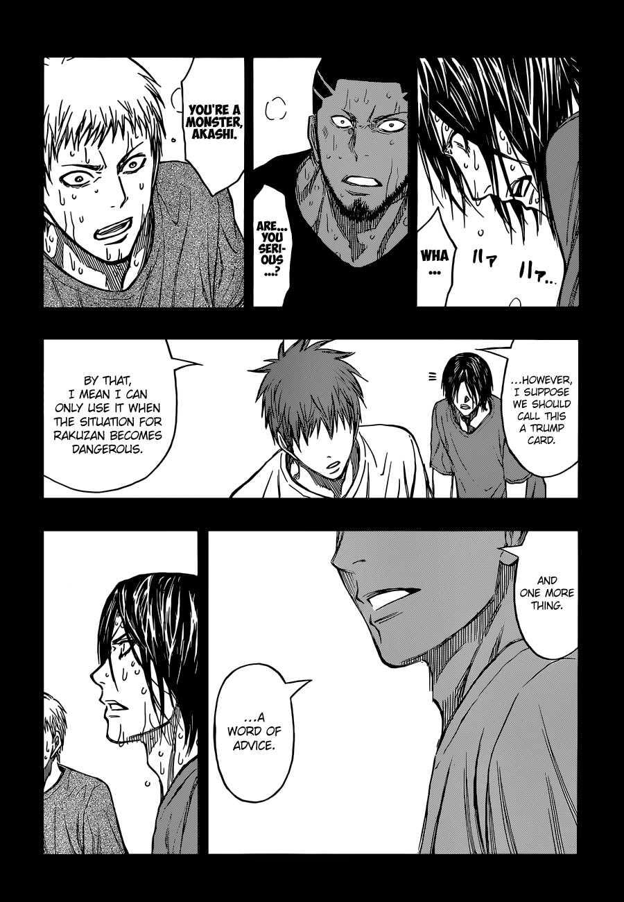 Kuroko no Basket Manga Chapter 260 - Image 05