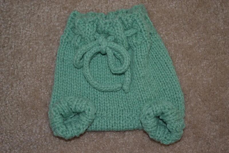 Newborn Wool Soaker