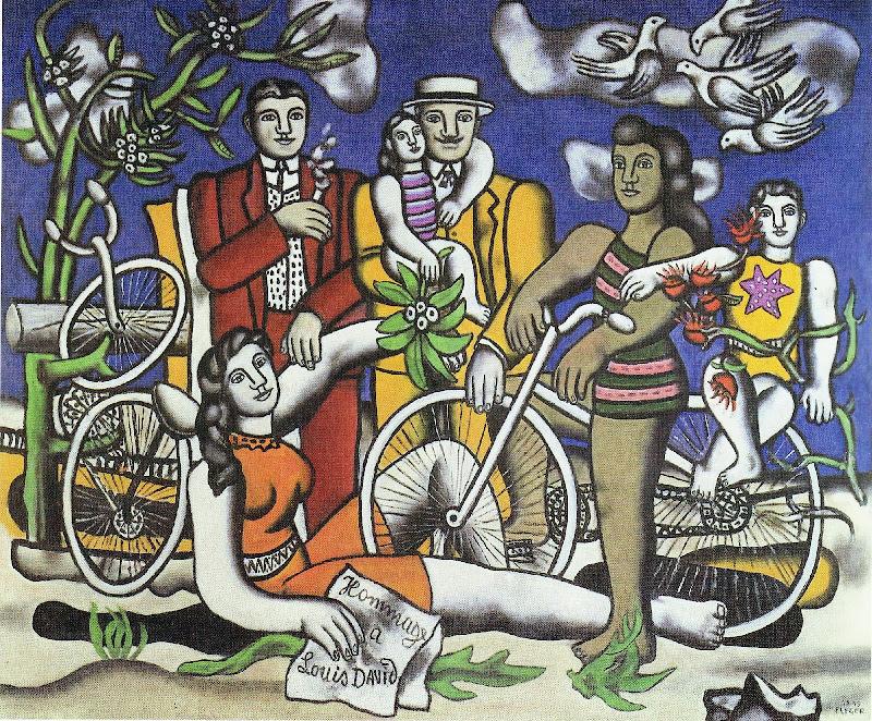 Fernand Léger - Les loisirs (1948-1949)