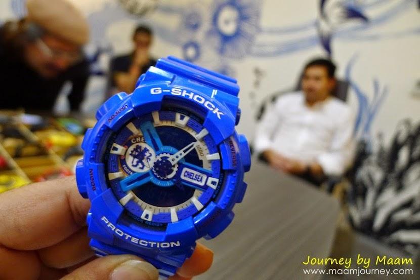 นักสะสม G-Shock_รุ่นหายาก_Chelsea_1
