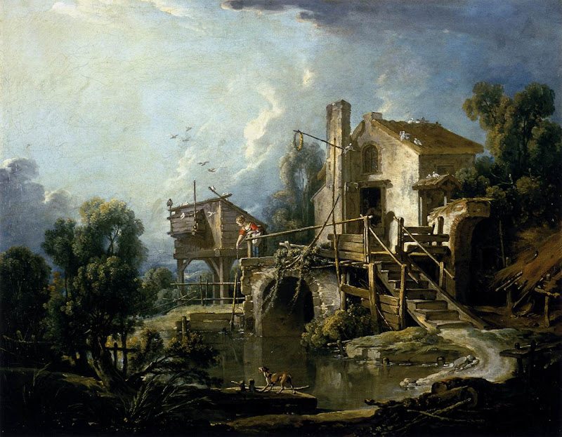 Francois Boucher - The Mill at Charenton