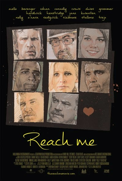 Poster Of English Movie Reach Me (2014) Free Download Full New Hollywood Movie Watch Online At alldownloads4u.com