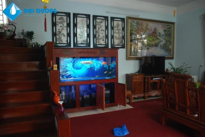 phong thủy đặt hồ cá rồng