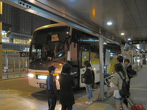 西鉄高速バス「さぬきエクスプレス福岡号」 3270 高松駅にて