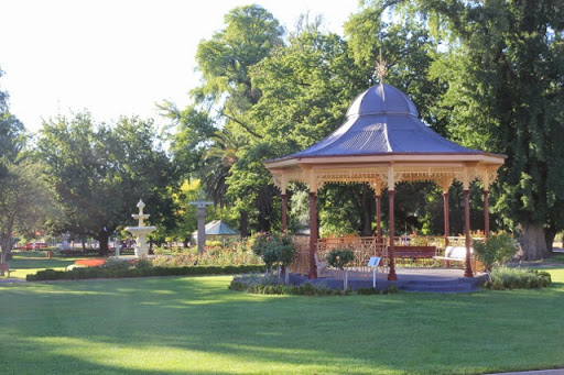 The rotunda, to sit and contemplate. Goulburn, Australia