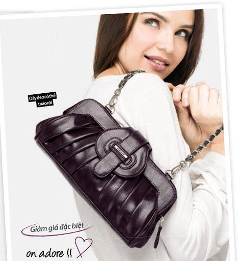 Túi xách nữ thời trang Sophie Kenya - GL20DP