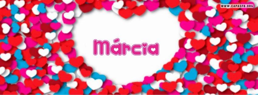 Capas para Facebook Márcia