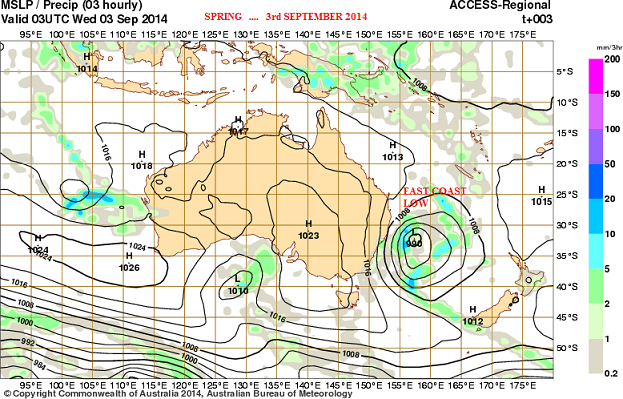 3rd sept 2014 synopticand ECL