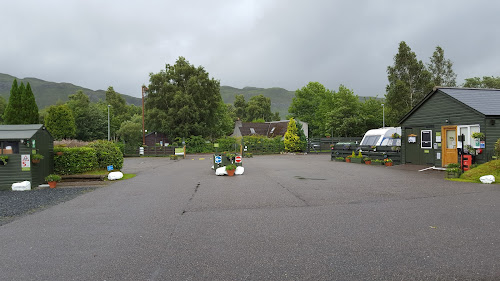 Kinlochewe Caravan Club Site at Kinlochewe Caravan Club Site
