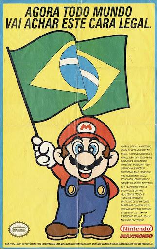 """""""Agora todo mundo vai achar esse cara legal""""- 'Num intendi'... Por que tá com a bandeira do Brasil"""
