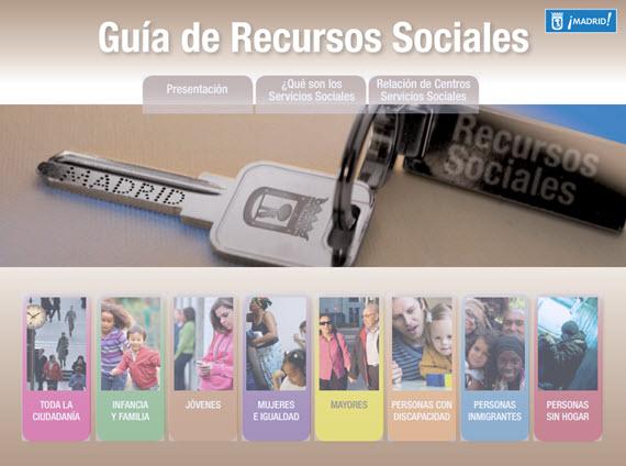 Nueva guía de Recursos Sociales del Ayuntamiento de Madrid