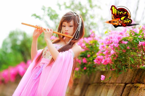 Chibi Bunny tung cosplay Mộng Tiên tuyệt đẹp 7