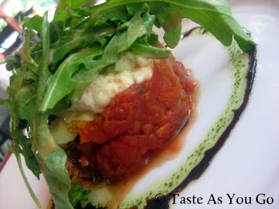 Tomato Tartare at Anis Cafe & Bistro in Atlanta, GA - Photo by Michelle Judd of Taste As You Go