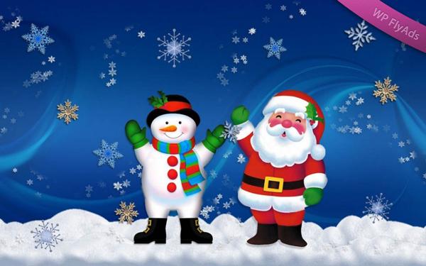 WP FlyAds & Christmas Snow Falling Effects plugin 1