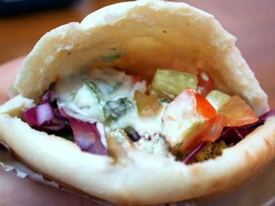 Falafel in Jerusalem Israel