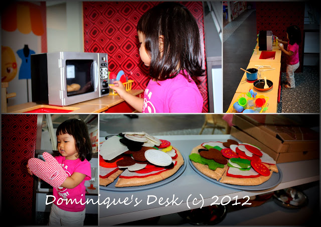 Tiger girl cooking pizza