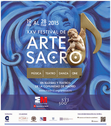 XXV edición del Festival de Arte Sacro, del 19 de febrero al 28 de marzo de 2015