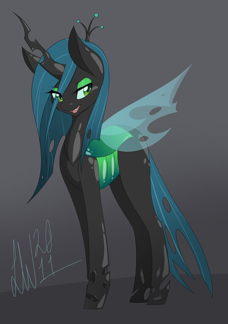 queen chrysalis hipster - photo #20