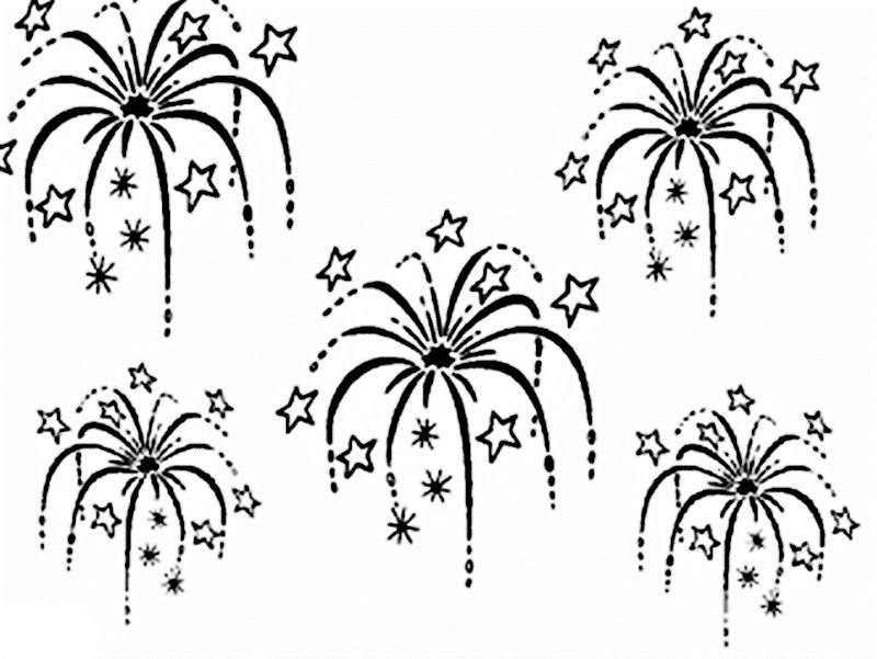 images fireworks coloring pages - Firework Coloring Pages Printable