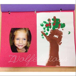 Photo of Kindergarten Scrapbook