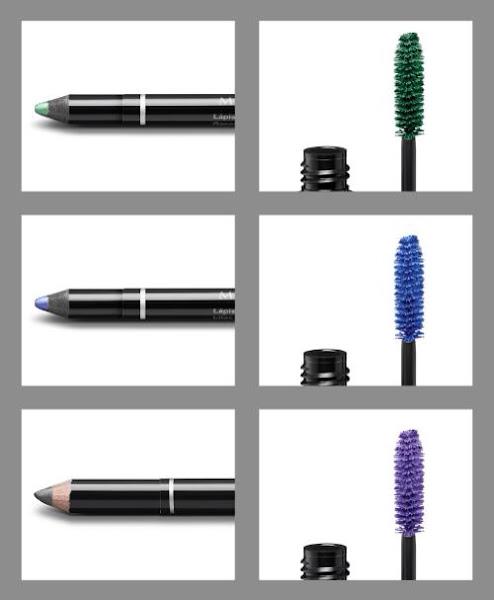 Máscaras de pestanas e lápis de contorno da linha Make b infinity