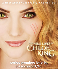 The Nine Lives of Chloe King tonight on ABC Family