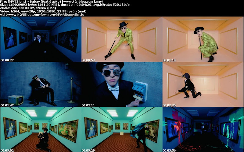 (MV) Zion.T - Babay (feat.Gaeko) (HD 1080p Youtube)