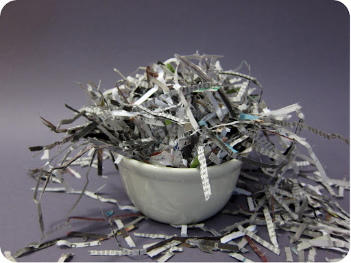 Shred some old newspaper.