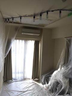 天井の補修