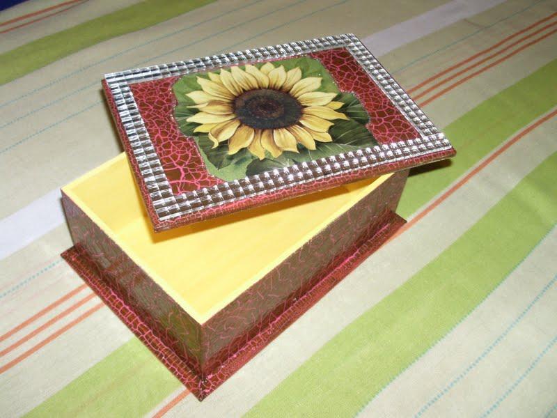 Artesanato Goiania Go ~ Cris artesanatos MDF decorado com girassol