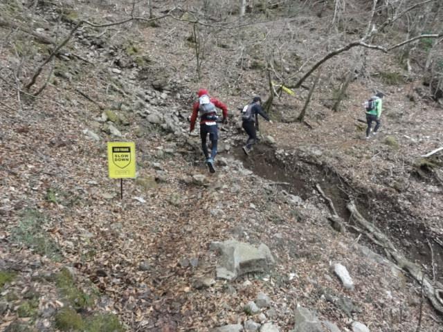Izu trail journey スタート