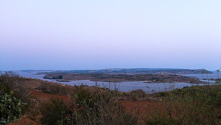 semaine en photos, paysage maltais, glaces cookies pistache, couple, plateau repas