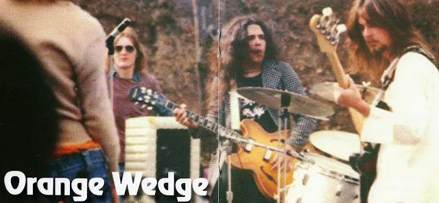 the Orange Wedge ~ 1974 ~ No One Left But Me inside