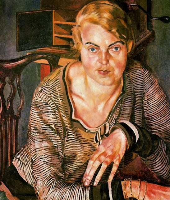 Stanley Spencer - Portrait of Patricia Preece, 1933