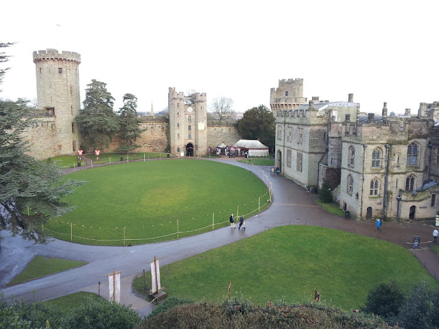Warwick Castle by Robin Catling