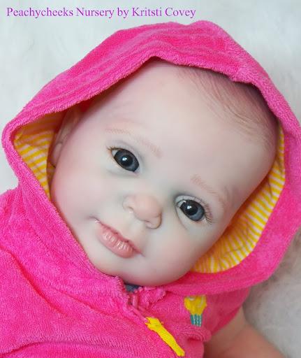 Beautiful Reborn Girl Baby Doll- New Sculpt BLAZE By Donna
