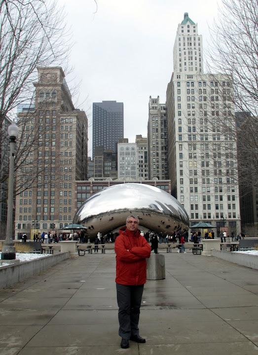 """""""The Bean"""" a Millenium Park"""