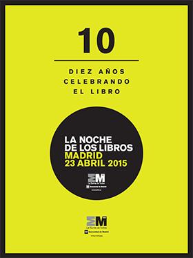 Programa de La Noche de los Libros 2015 - Descargar PDF