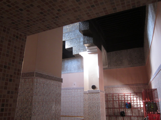 Interior of the hammam